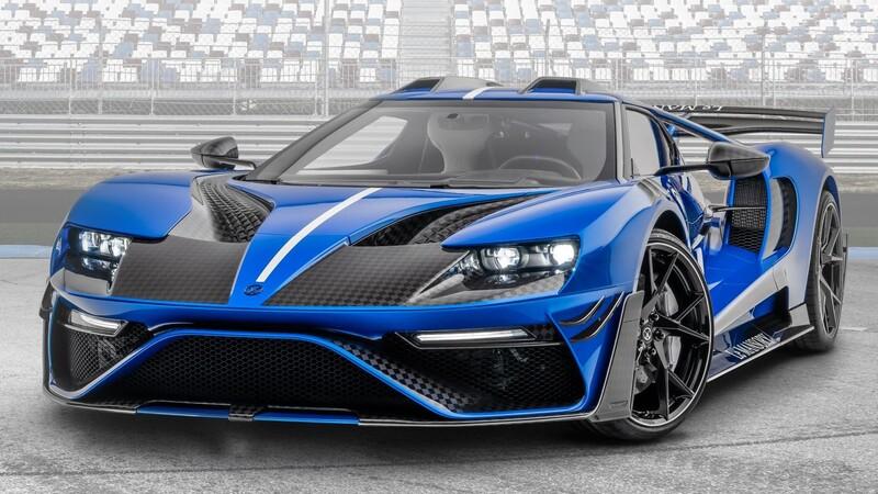 Mansory decide que el Ford GT necesitaba una versión más extravagante