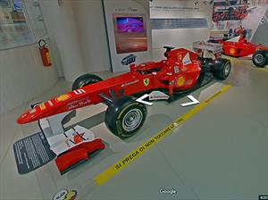 Podés viajar a los museos Ferrari con Google