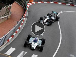 Video: Keke y Nico Rosberg revivieron sus mejores momentos en Mónaco