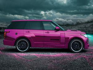 Hamann Range Rover Mk4 Mystère, rosa violento
