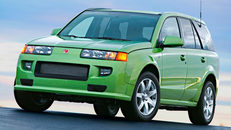 Saturn Vue, una SUV de General Motors con motor Honda