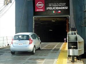 Nissan Mexicana exporta su unidad 4 millones