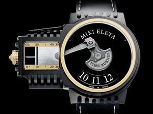 Un reloj que funciona como los motores de combustión interna