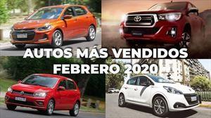 Los 10 autos más vendidos en Argentina en febrero de 2020