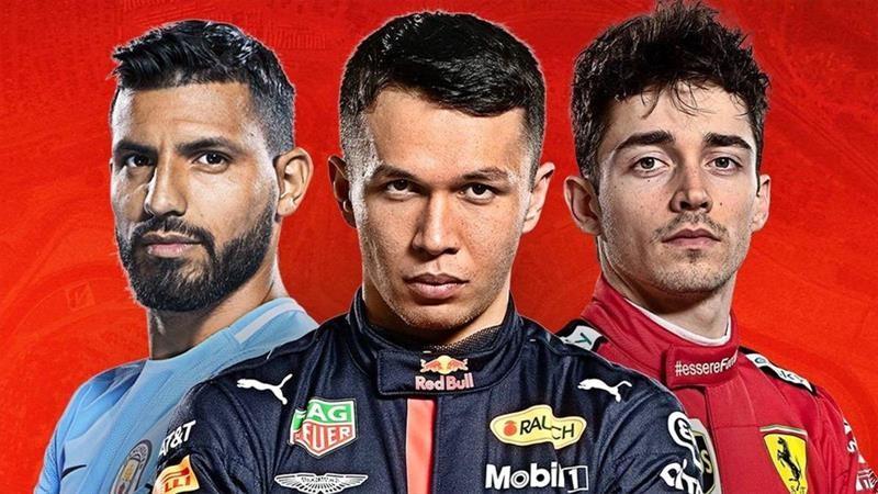 El Kun Agüero abandona el futbol para correr en la F1… virtual
