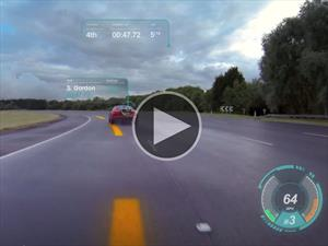 Video: Jaguar lleva el Head Up Display a todo el parabrisas