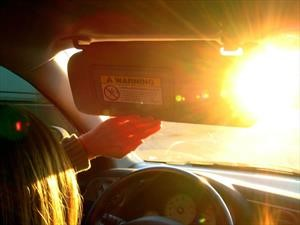 Aprende a conducir con el sol de frente