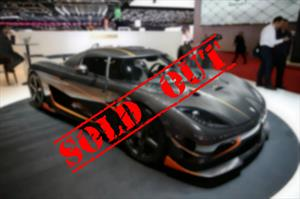 Koenigsegg Agera RS ¡sold out!