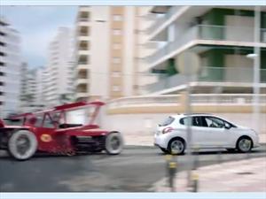 Peugeot 208 contra los Autos Locos