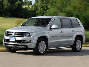 ¿Volkswagen prepara un SUV basado en la Amarok?