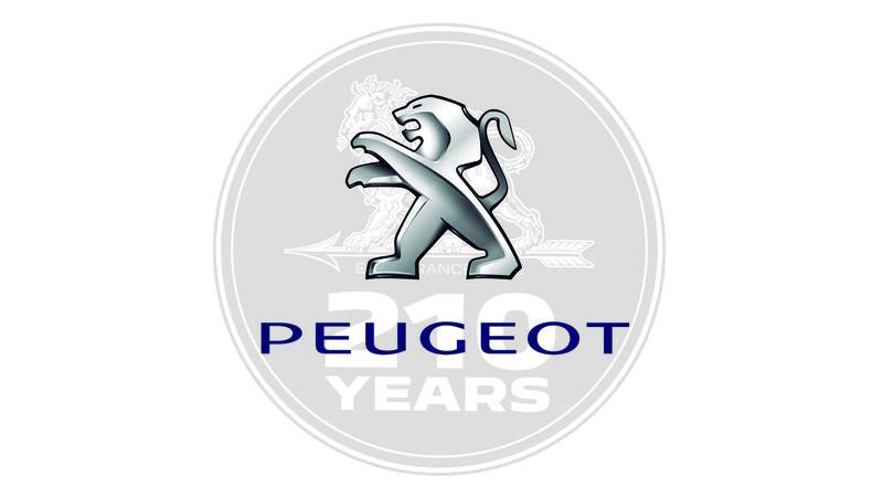 Peugeot celebra 210 años con nuevo logo y campaña