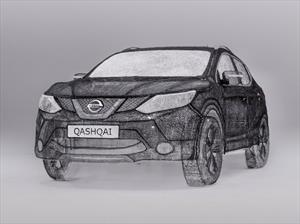 Un auto hecho con un bolígrafo 3D