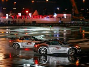 Nissan obtiene el Récord Guinnesss de drifting más largo con dos autos