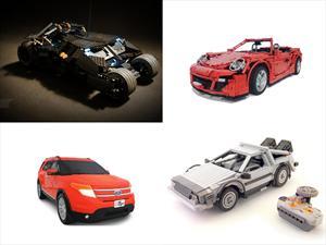 Top 10: Los mejores vehículos creados con piezas de LEGO