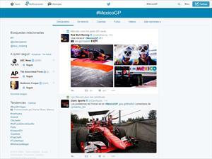 Gran Premio de México 2015 enloquece Twitter