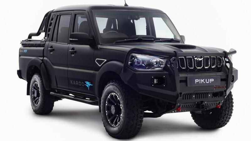 Mahindra lanza una edición especial más capaz de su camioneta