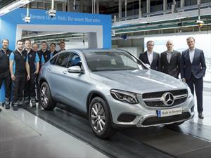 Mercedes-Benz GLC Coupé 2017 comienza producción