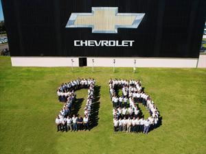 GM Argentina celebró los 15 años de su planta en Alvear, Santa Fé
