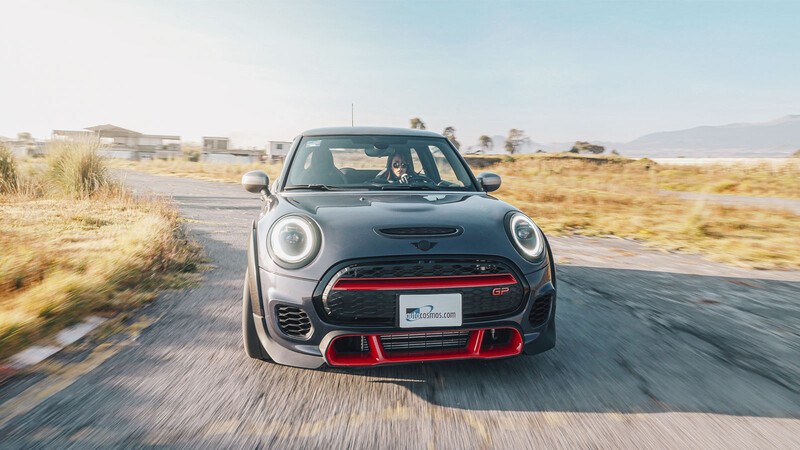 Manejamos el MINI John Cooper Works GP 2021