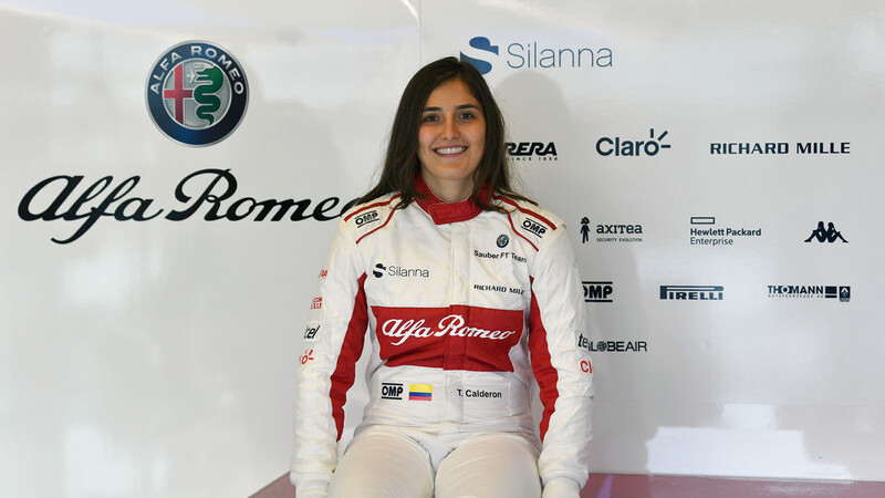 Platicamos con Tatiana Calderón, la piloto de pruebas de F1 Alfa Romeo Racing-ORLEN