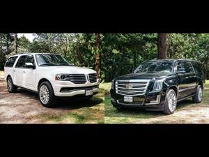 Comparativa: Cadillac Escalade vs Lincoln Navigator