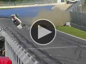 Video: Espectacular accidente en la GT4 European Series