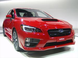 Subaru WRX 2015 debutó en L.A.