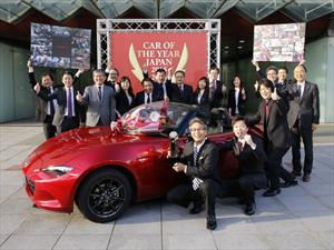 Mazda MX-5 es denominado Car of the Year en Japón