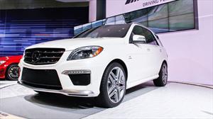 Mercedes – Benz ML63 AMG 2012 debuta en el Salón de los Ángeles