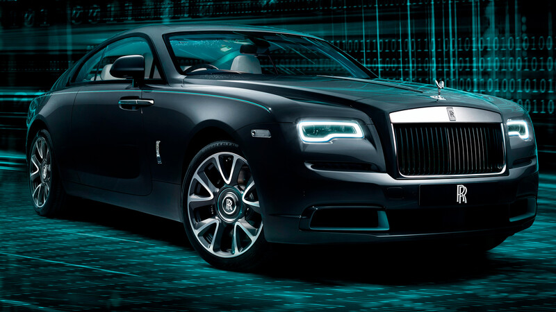 Rolls-Royce Wraith Kryptos Collection, lujo sobre lujo