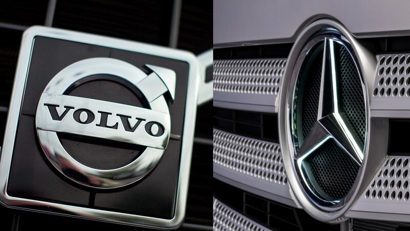 ¿Con qué fin se asociaron Volvo y Daimler?