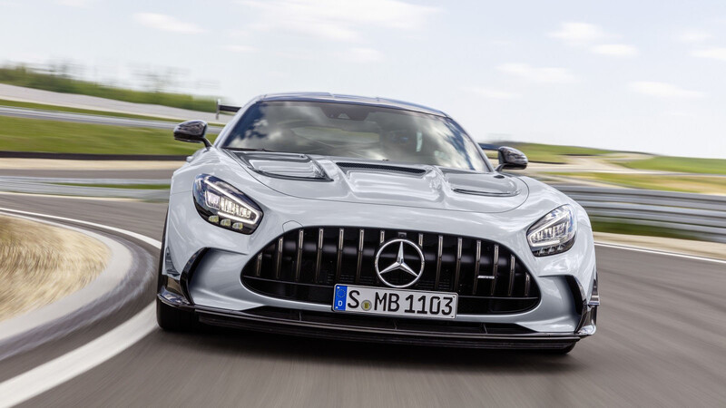 Mercedes-AMG GT Black Series debuta