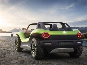 Volkswagen I.D. Buggy, enchufes en la playa