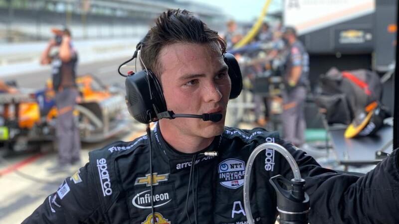 El piloto mexicano Pato O'Ward es nombrado novato del año en la Indy 500 2020