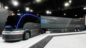 Hyundai HDC-6 Neptune Concept es tractocamión eléctrico alimentado por hidrógeno