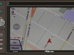 BETTER presenta su  radio multimedia con GPS