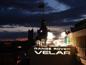 Range Rover Velar, una estrella en París