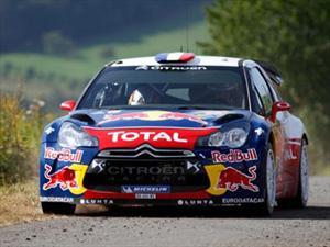 WRC: Rally de España, Sébastien Loeb lideró la jornada clasificatoria