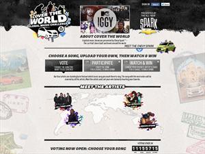 Chevrolet y MTV Iggy juntos alrededor del mundo