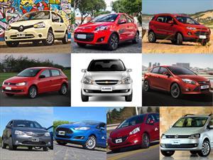 Top 10 los autos más vendidos en julio de 2014