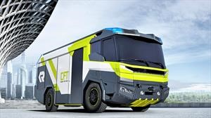 Conoce el camión de bomberos del futuro
