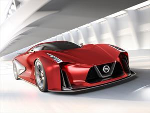Nissan Vision Gran Turismo 2020 al rojo vivo