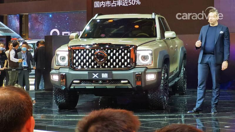 Great Wall lanza el prototipo de su primera pick-up full size