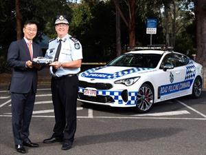 KIA Stinger GT es la nueva patrulla de Australia