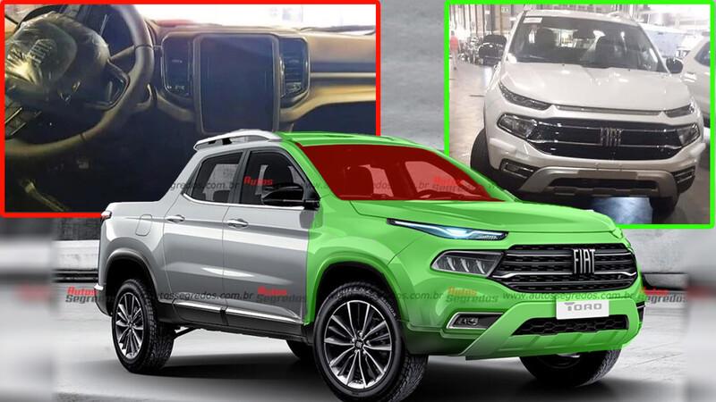 FIAT Toro 2022: Interior y frente develados previo a su lanzamiento