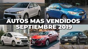 Los 10 autos más vendidos en septiembre 2019
