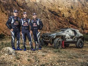 Video: Peugeot 2008 DKR haciendo pruebas en terracería