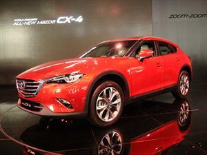 Mazda CX-4 2017: Se presenta el SUV Coupé
