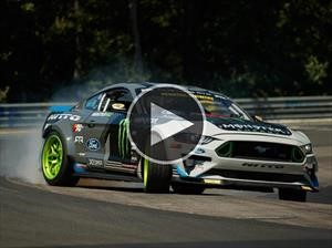 Video: Este Ford Mustang RTR recorrió todo Nürburgring a puro drift