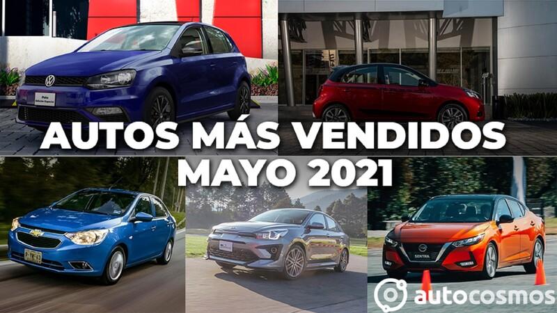 Los 10 autos más vendidos en mayo 2021